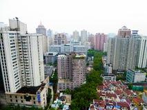 Trascuri la Comunità della residenza di Shanghai Fotografia Stock