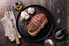 Traseiro cru da carne assada foto de stock royalty free