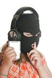 Trasferimenti dal sistema centrale verso i satelliti illegali MP3 Fotografia Stock