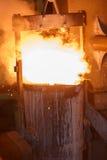 Trasferimento della siviera per getti di FCD Fotografia Stock Libera da Diritti