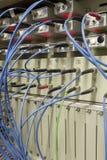 Trasferimento di dati a fibra ottica Fotografie Stock Libere da Diritti