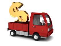 Trasferimento di denaro illustrazione vettoriale