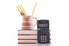 Trasformandosi in un maggiore per la matematica Fotografie Stock