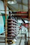 Trasformatore industriale Fotografia Stock Libera da Diritti