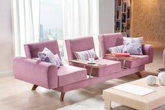 Trasformatore moderno del sofà di stile per la casa immagini stock