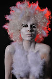 Trasformazione dall'angelo all'essere umano Fotografia Stock Libera da Diritti