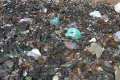 Trash background Stock Image