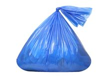 Trash Bag Royalty Free Stock Photos