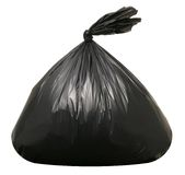 Trash Bag Stock Image