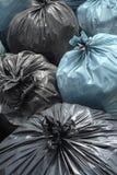Trash Bag. Close - up of bin bags Stock Photography