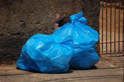 Trash Bag Royalty Free Stock Images