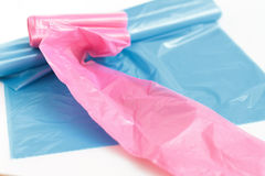 Trash bags Stock Image