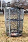 Trash barrel Stock Images