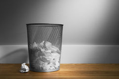 Trash-basket Royalty Free Stock Images