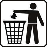 Trash basket Royalty Free Stock Images