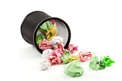 Trash bin Royalty Free Stock Image