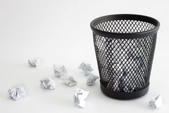 Trash bin Royalty Free Stock Images