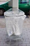 Trash bin Royalty Free Stock Image