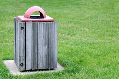 Trash bin Stock Photography