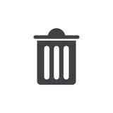 Bin, delete, empty, full, recycle, remove, trash icon |Delete Trash Button Icon