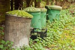 Trash bins Stock Image
