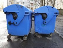 Trash bins Stock Photography
