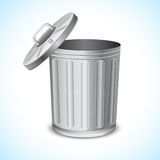 Trash Can Royalty Free Stock Photography