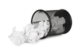 Trash can Royalty Free Stock Photo