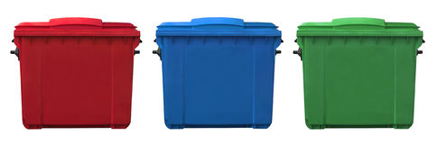 Trash can Royalty Free Stock Images