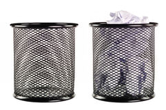 Free Trash Can Full Of Paper Stock Images - 25933694