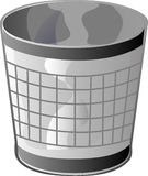 Trash Can, Garbage Can Stock Photography