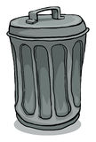 Trash can Stock Image
