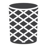 Trash can icon vector Stock Photo
