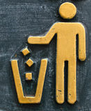 Trash can symbol Stock Photo