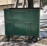 The trash can stock photos