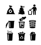 Trash can Royalty Free Stock Image