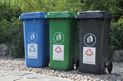 Trash Cans Stock Images