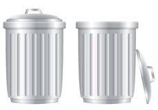 Trash cans Royalty Free Stock Photos