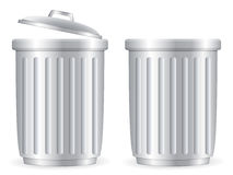 Trash cans Stock Photos