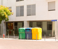 Trash cans Royalty Free Stock Image