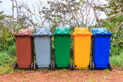 The trash Royalty Free Stock Images