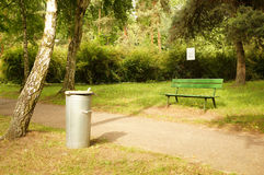 Trash container Royalty Free Stock Photos