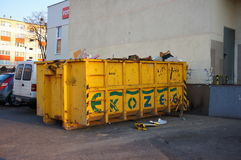 Trash container Stock Images