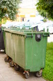 Trash containers Stock Photos