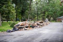 The devastation of Hurricane Harvey Royalty Free Stock Image