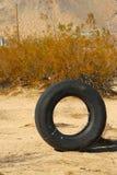 Trash in the Desert Royalty Free Stock Photo