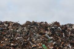 Trash dump Stock Image