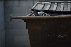Trash Dumpster Royalty Free Stock Photography