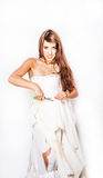 Trash el vestido Imagen de archivo libre de regalías