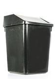 Trash isolated dirty old black bin isolated Stock Images
